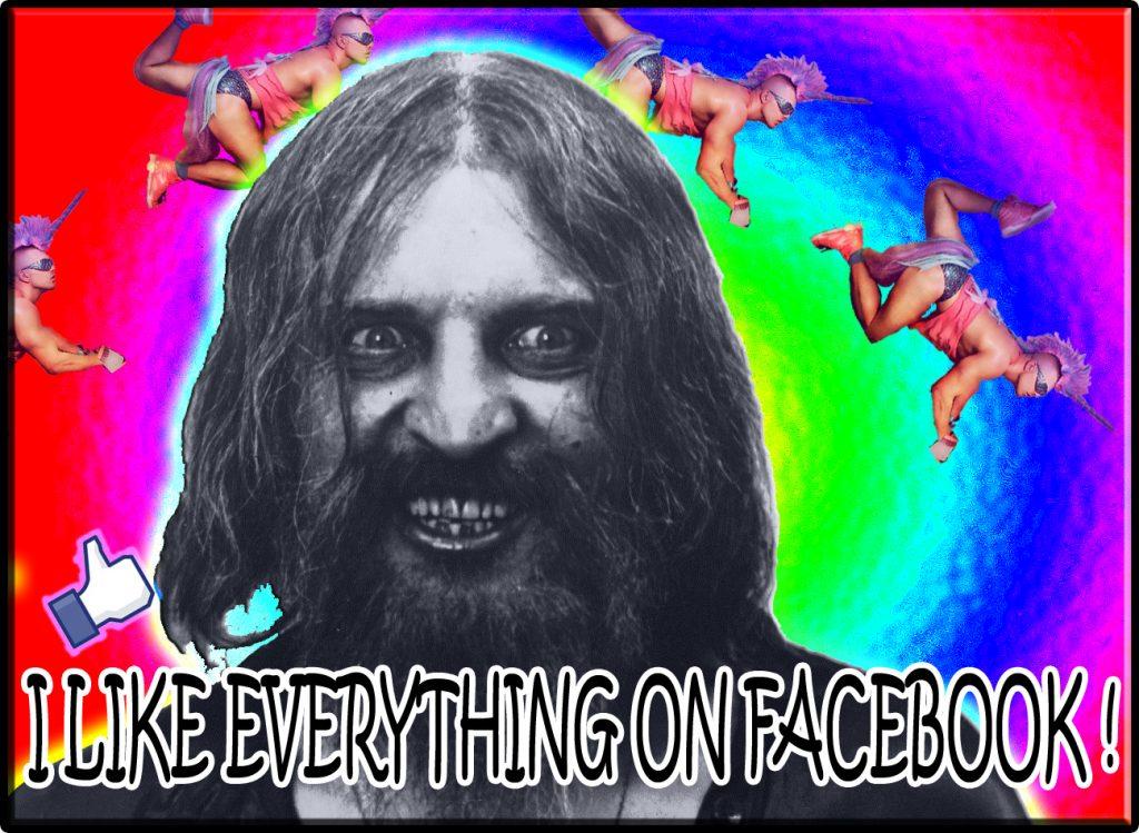 i like everything on facebook meme