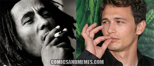 James Franco as Bob Marley 02