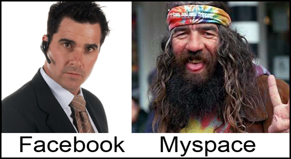 facebook vs myspace