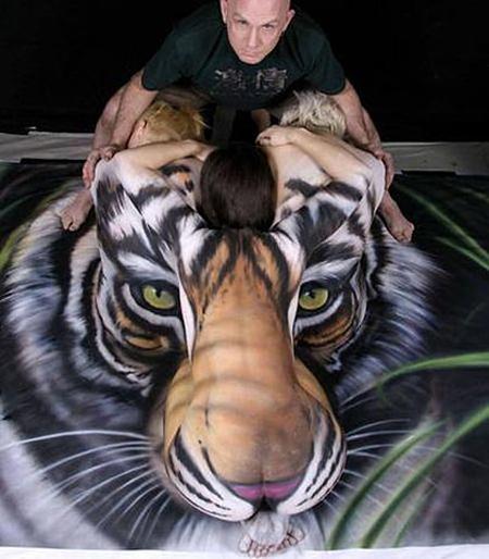 hidden image (tiger people)