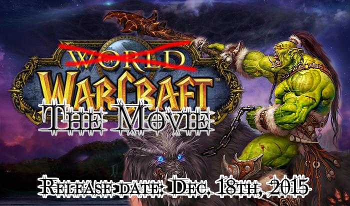 warcraft movie release date 2015