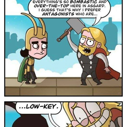 Thor Low key comic meme