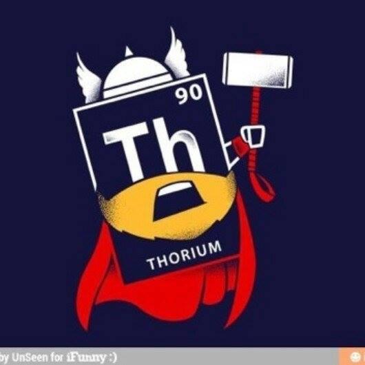 Thor Thorium Element Meme