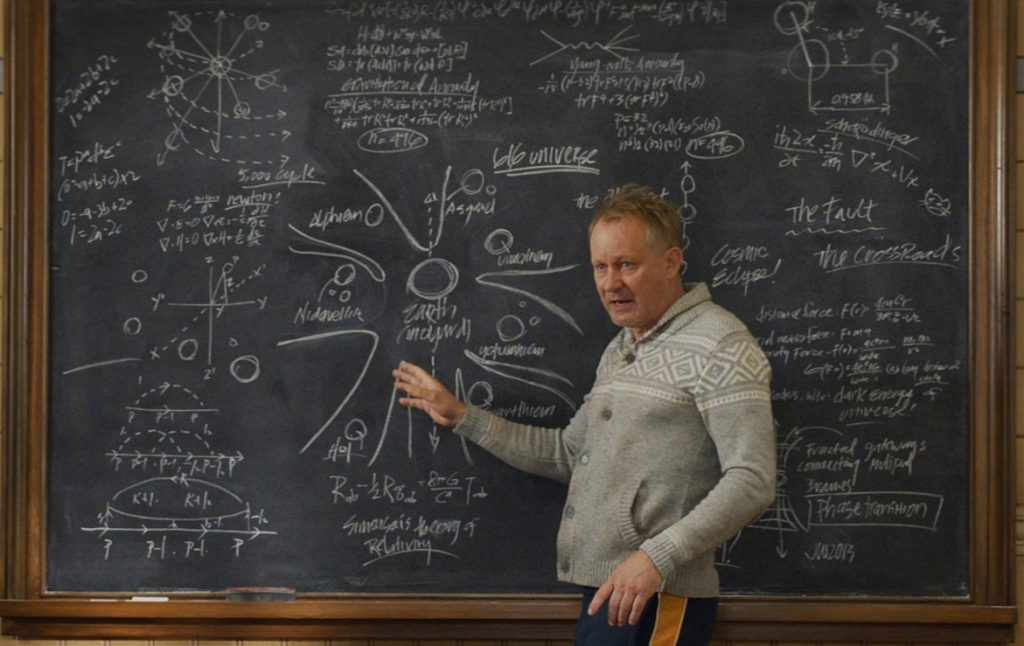 Thor: The Dark World - Marvel Secrets: Dr. Selvig's chalkboard