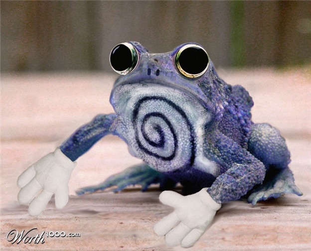 061 real life like pokemon poliwhirl