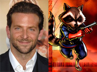 Bradley Cooper as Rocket Raccoon