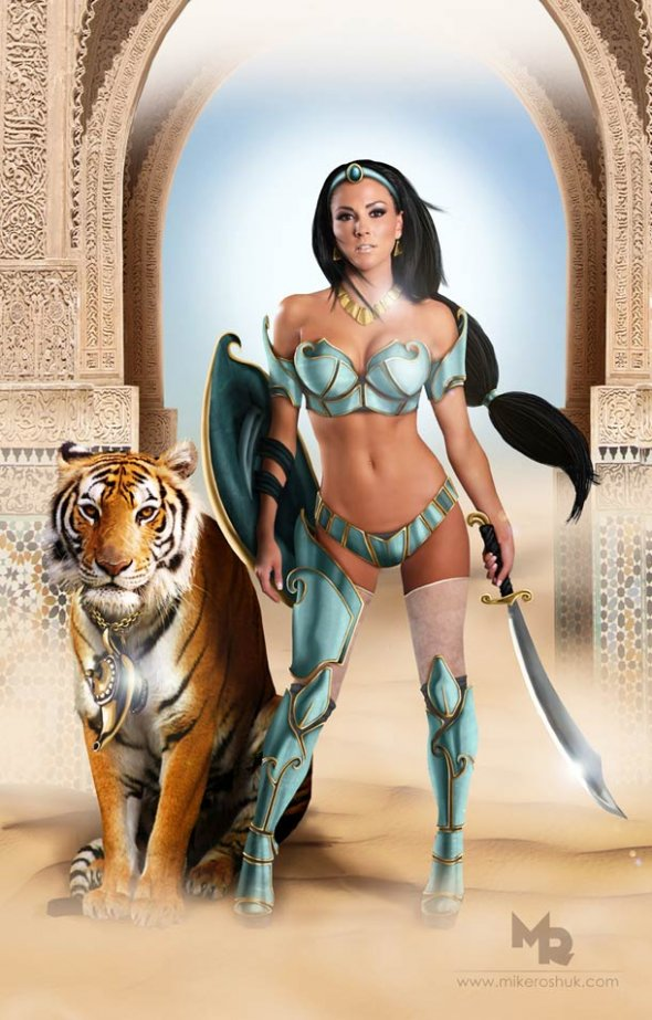 Sexy Disney Princess Jasmine
