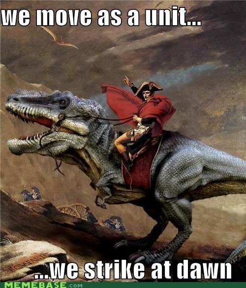 nepolean dinosaur meme