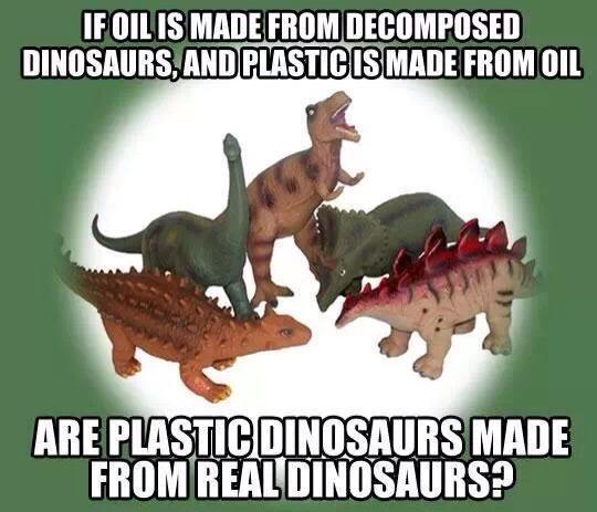 plastic dinosaur meme