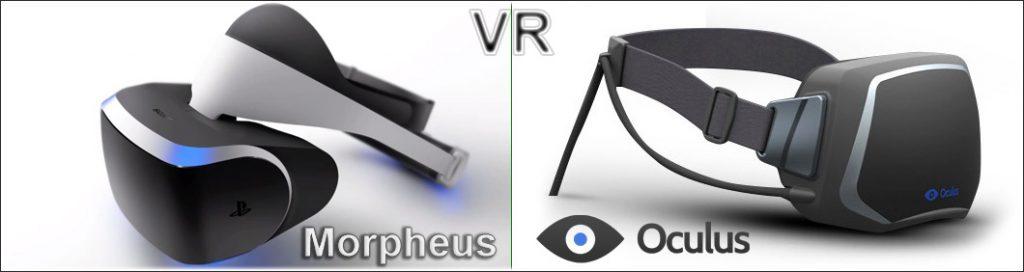 virtual reality morpheus oculus vr