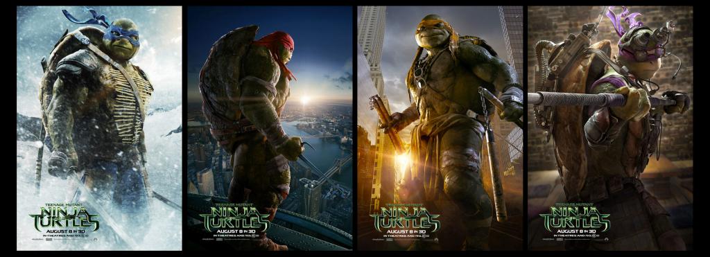 tmnt 2014 movie posters