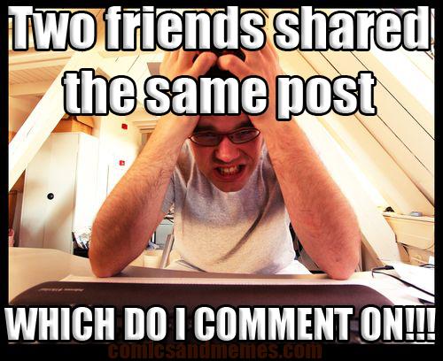 comment meme post