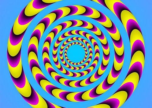 optical illusion 21 (center stair)