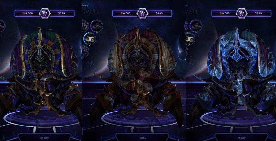 heroes storm Anubarak skins default