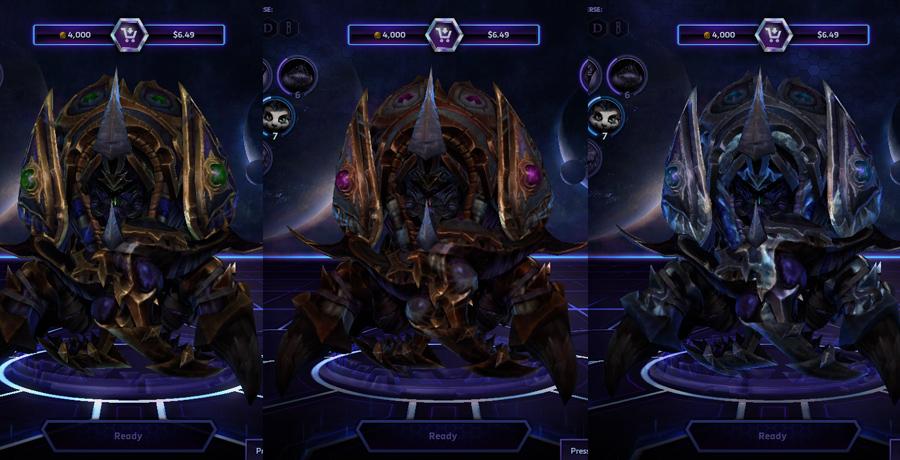 heroes storm Anubarak skins master