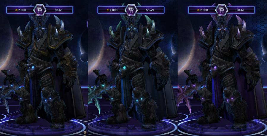 heroes storm Arthas skins master