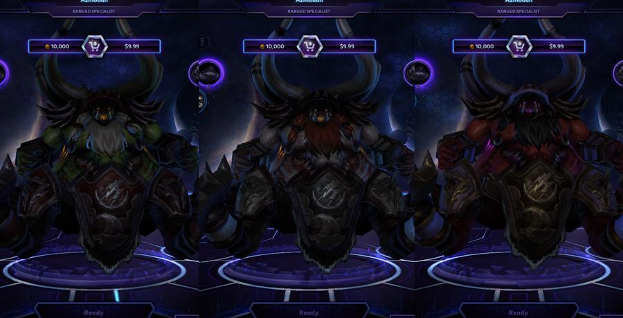 heroes storm Azmodan skins AzGuldan