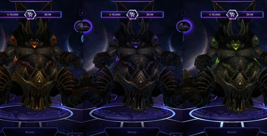 heroes storm Azmodan skins master