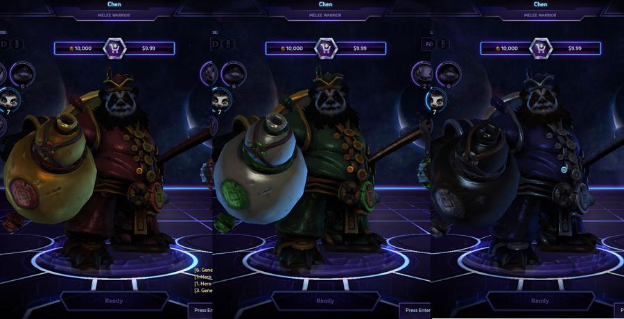 heroes storm Chen skins lunar
