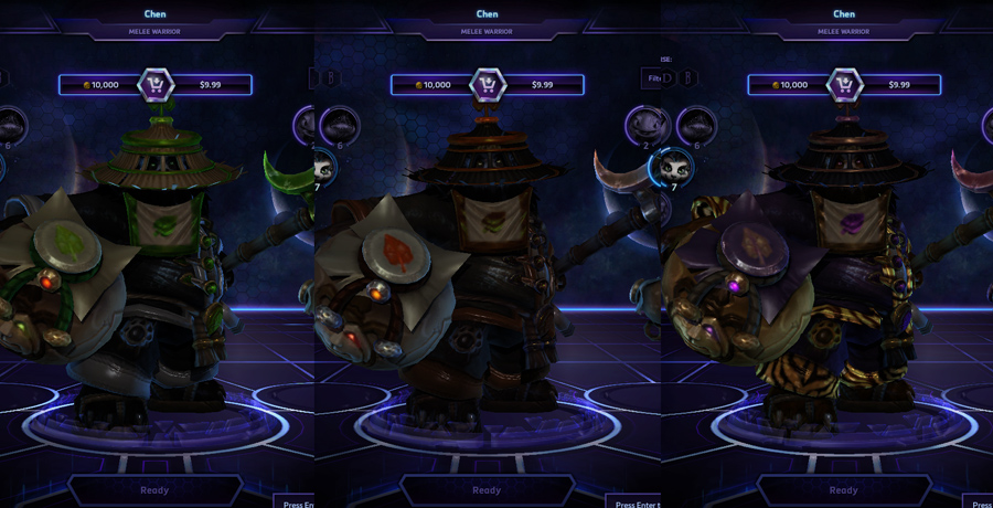 heroes storm Chen skins master