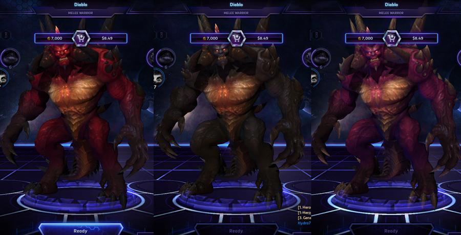 heroes storm Diablo skins default