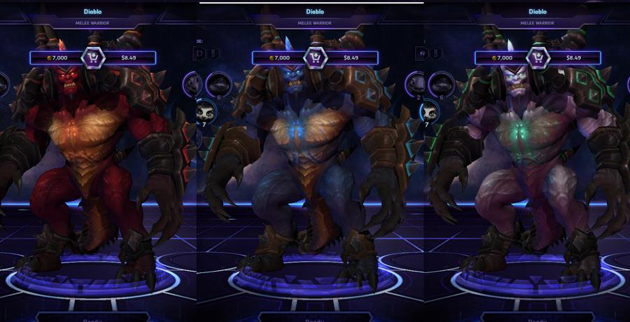 heroes storm Diablo skins master