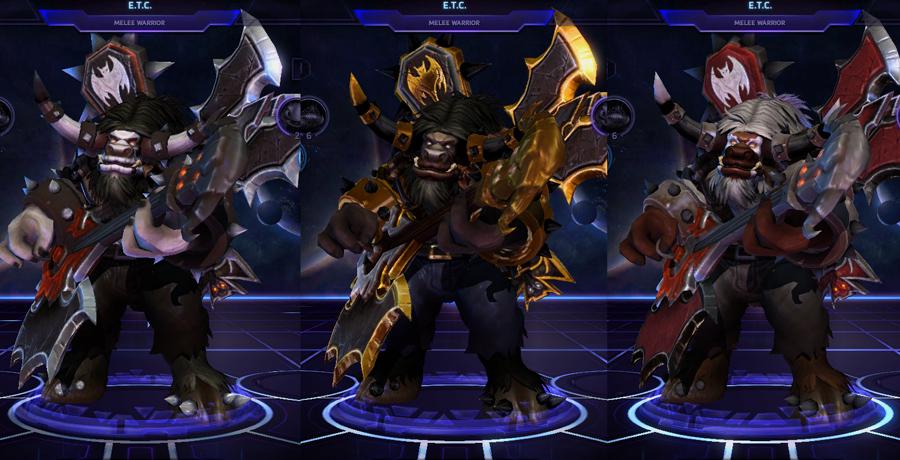 heroes storm ETC skins master
