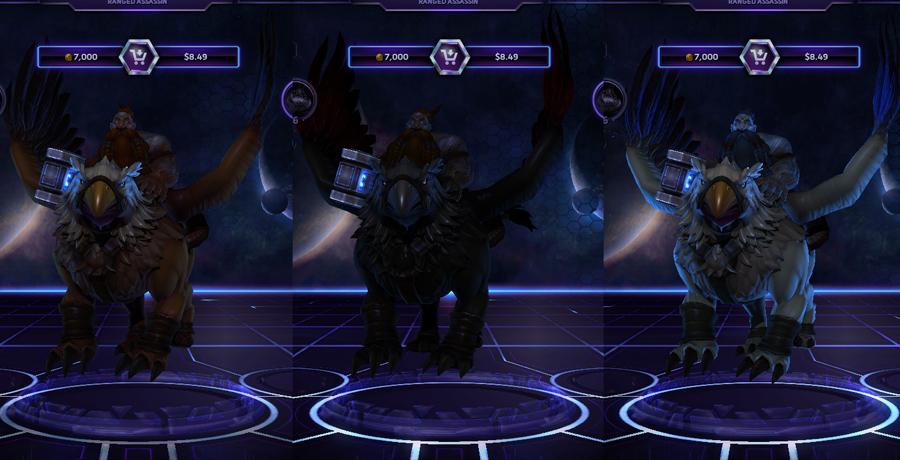 heroes storm Falstad skins default