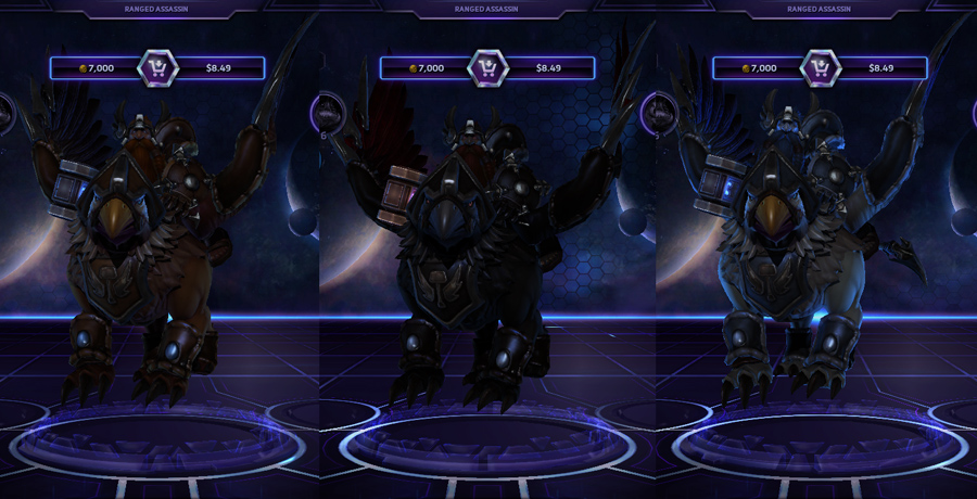 heroes storm Falstad skins storm lord