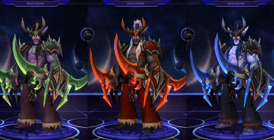 heroes storm Illidan skins master