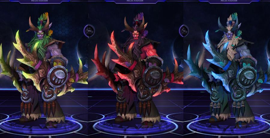 heroes storm Illidan skins shando