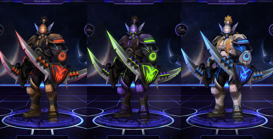 heroes storm Illidan skins spectre