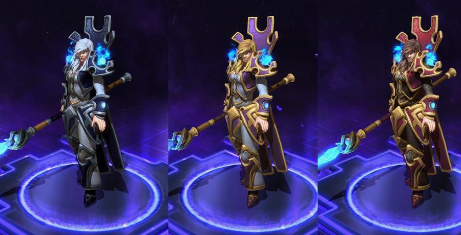 heroes storm Jaina skins master