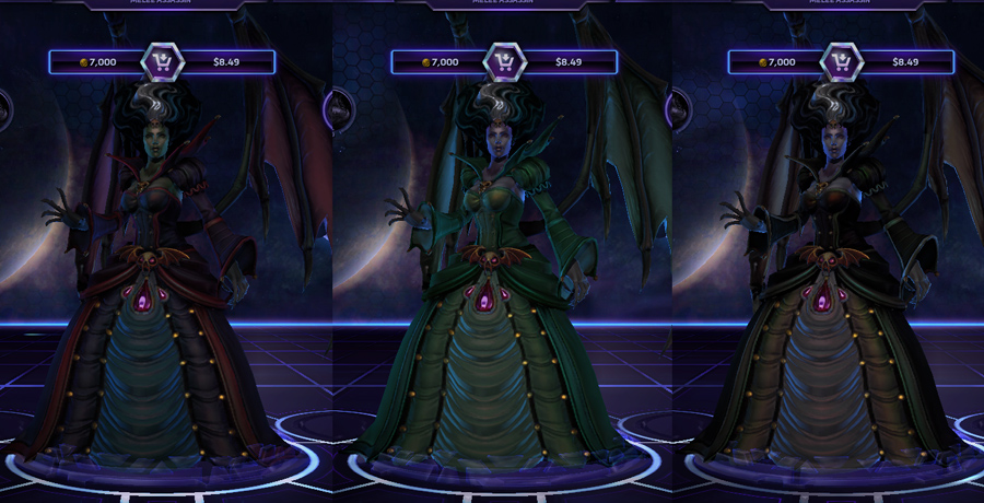 heroes storm Kerrigan skins countess