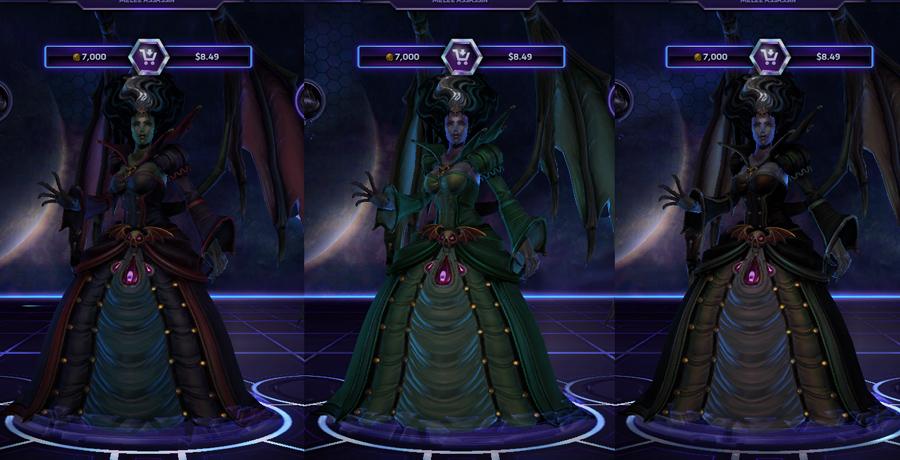 heroes storm Kerrigan skins countess