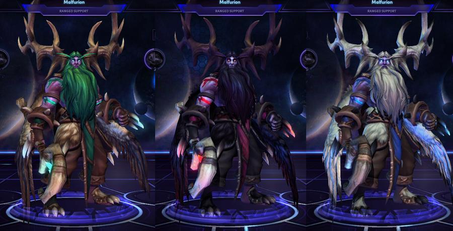 heroes storm Malfurion skins default