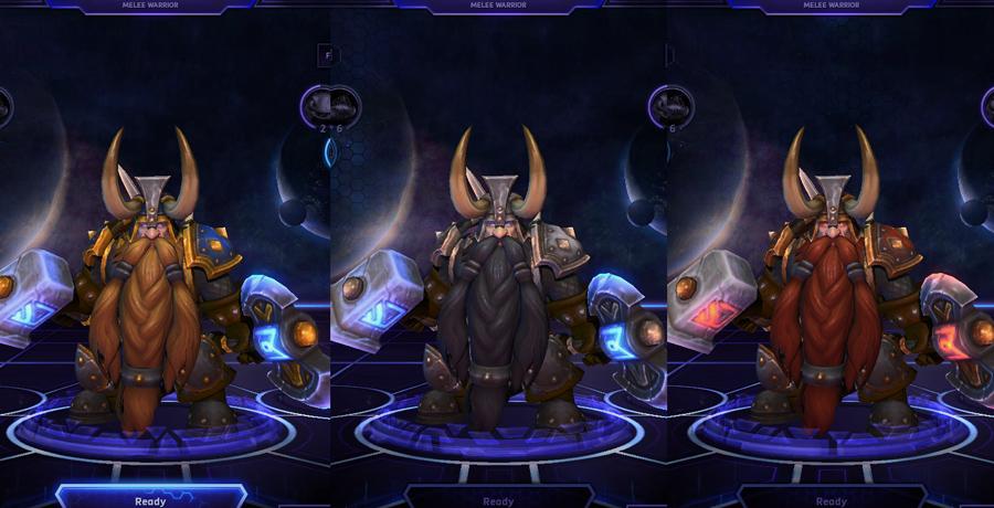 heroes storm Muradin skins default