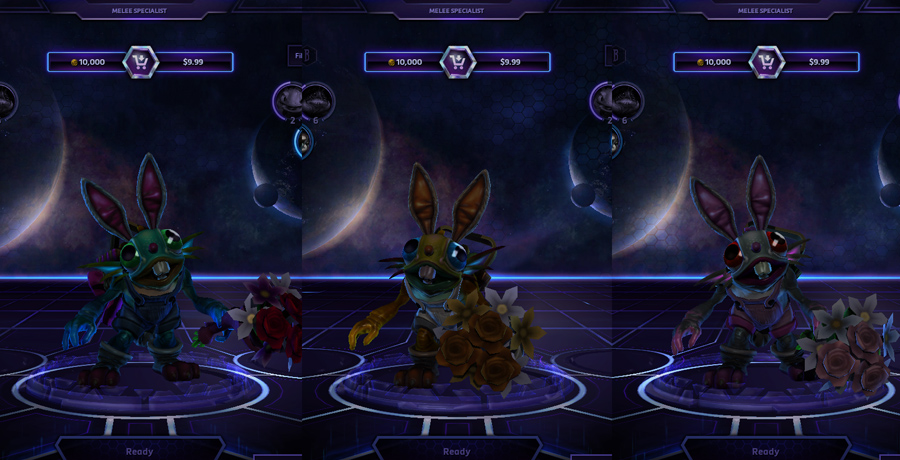 heroes storm Murky skins funny bunny
