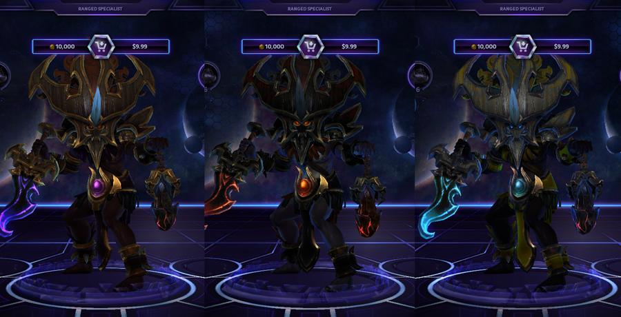 heroes storm Nazeebo skins master