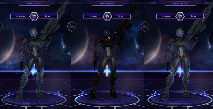 heroes storm Nova skins master