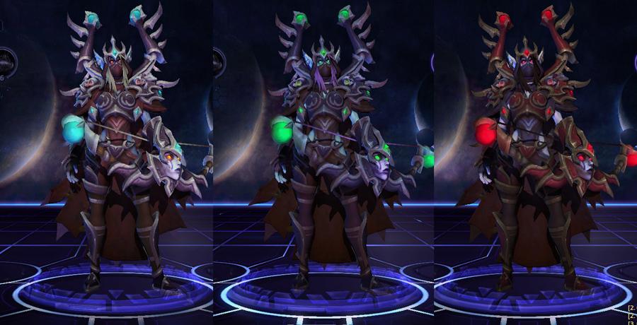 heroes storm Sylvanas skins master