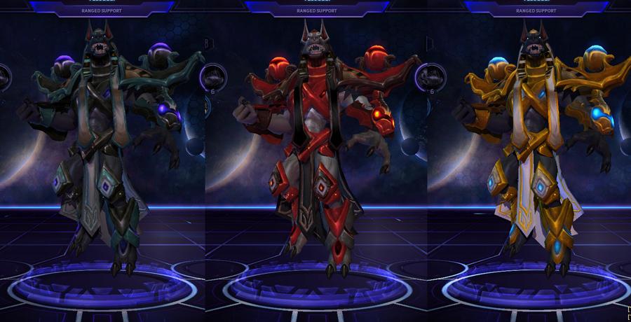 heroes storm Tassadar skins crypt king