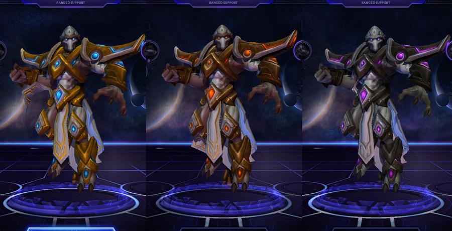 heroes storm Tassadar skins default