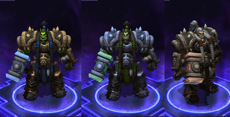 heroes storm Thrall skins default