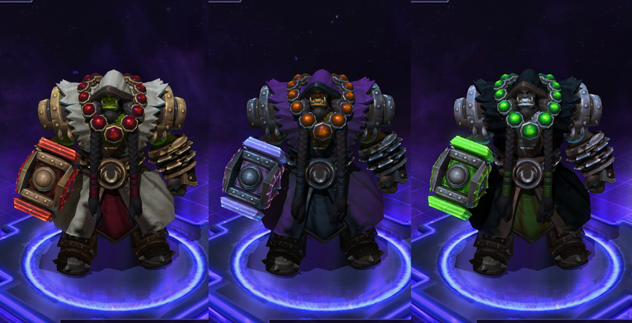 heroes storm Thrall skins master thrall