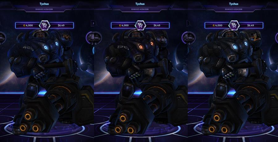 heroes storm Tychus skins default