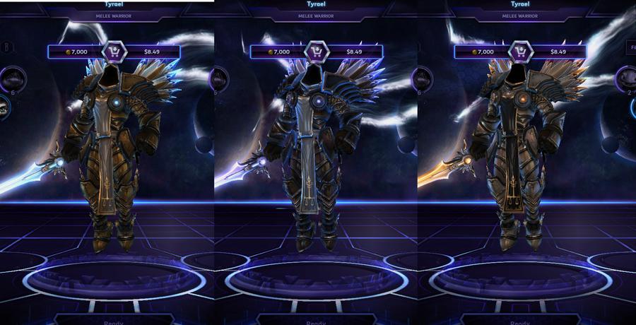heroes storm Tyrael skins default