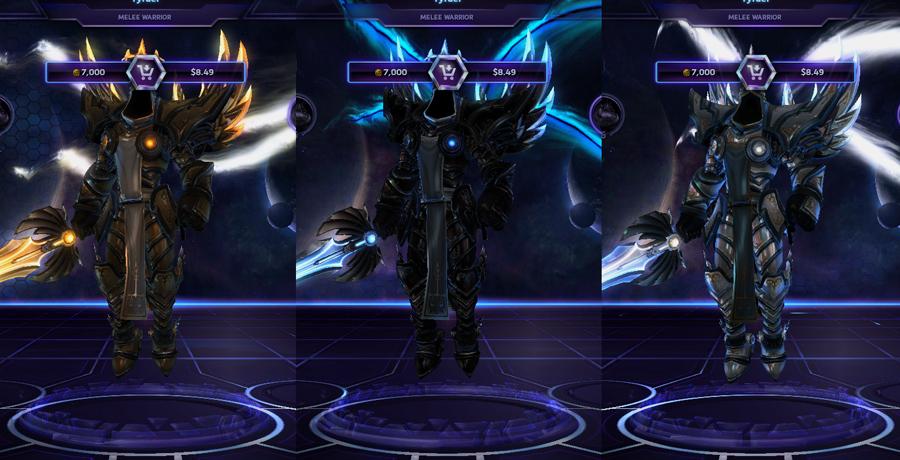 heroes storm Tyrael skins master