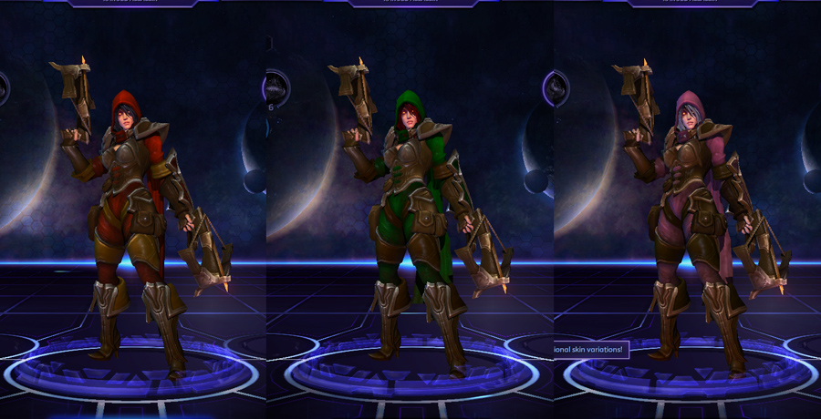 heroes storm Valla skins default