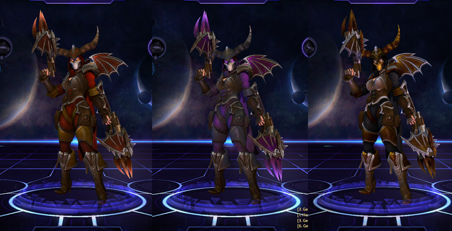heroes storm Valla skins master